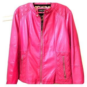 Hot Pink Pleather Pleaser